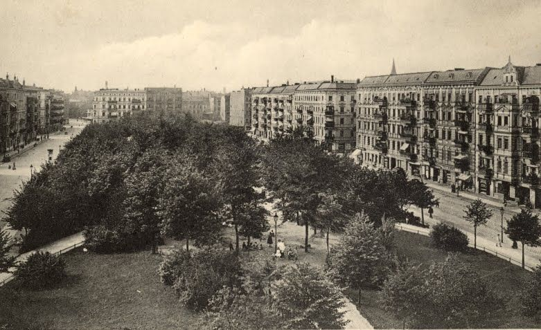 Helmholtzplatz 1920 Blickrichtung Lychener Straße Interiors Inspo