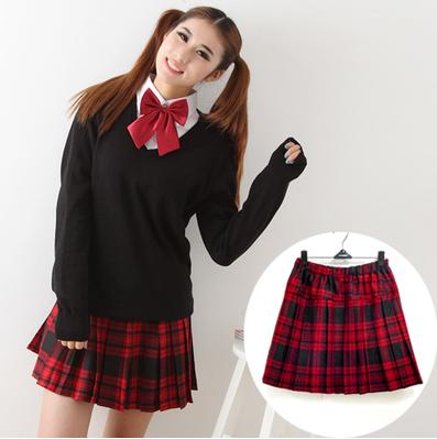Cute student uniform plaid skirt | School girl style | Pinterest ...