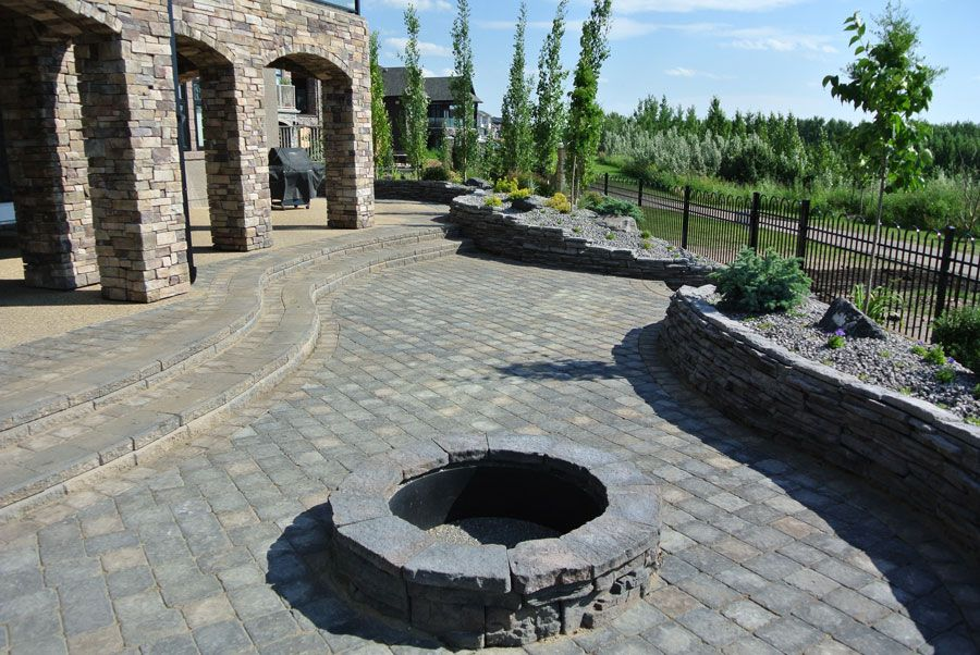 Minimal Maintenance Landscaping. Back yard oasis with rock