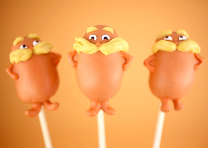 Lorax, Brown Bar-Ba-Loots and Truffala Tree Cake Pop tutorials (with down-loadable .pdfs)!