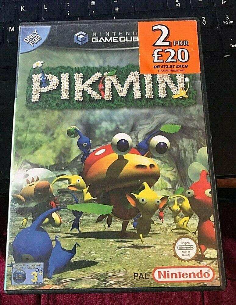 Nintendo Gamecube Game Pikmin Gamecube Games Nintendo Gamecube Games Gamecube