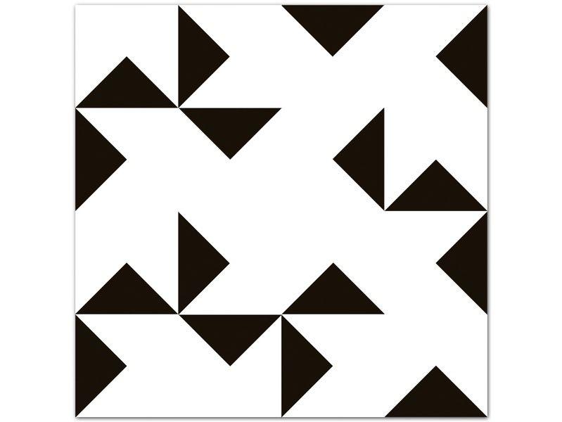 Fliesen & Kacheln - FUNK 01 > Fliesen/ Kachel Aufkleber Set - ein Designerstück von boubouki bei DaWanda