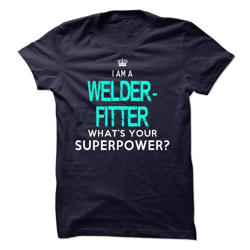 I'm A WELDER FITTER T-Shirts, Hoodies. CHECK PRICE ==► https://www.sunfrog.com/LifeStyle/Im-AAn-WELDER-FITTER-34547528-Guys.html?id=41382