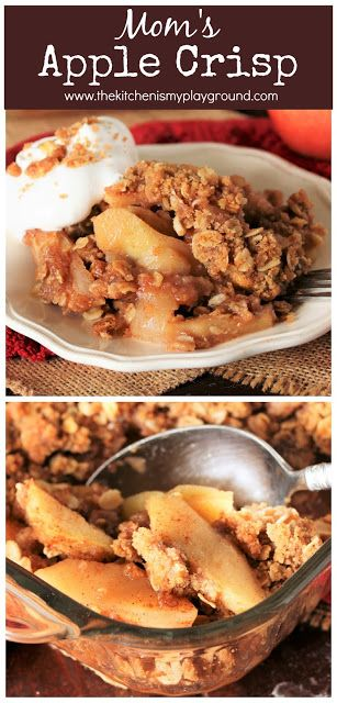 Mom's Apple Crisp