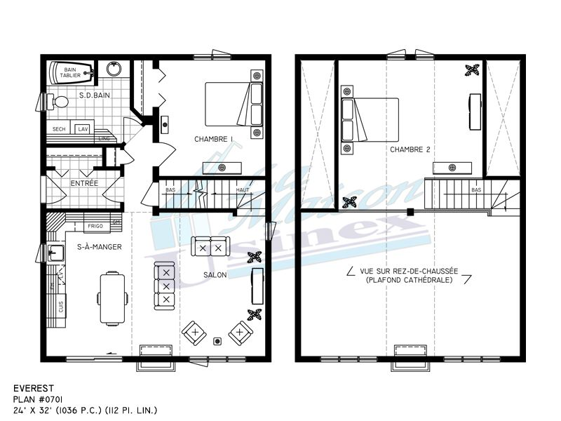 24 x 32 floor plans Cabin Floor Plans 24 X 32 Simple Cabins and - plan de maison simple