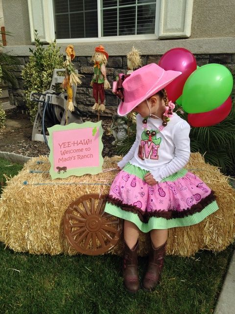 Mady's Cowgirl Party | CatchMyParty.com
