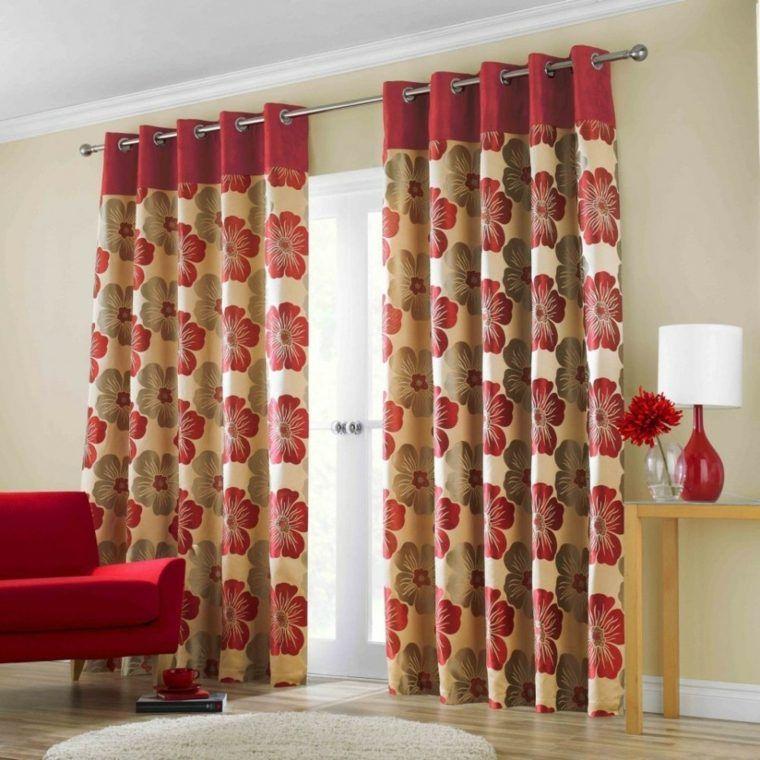diseos actuales cortinas salones