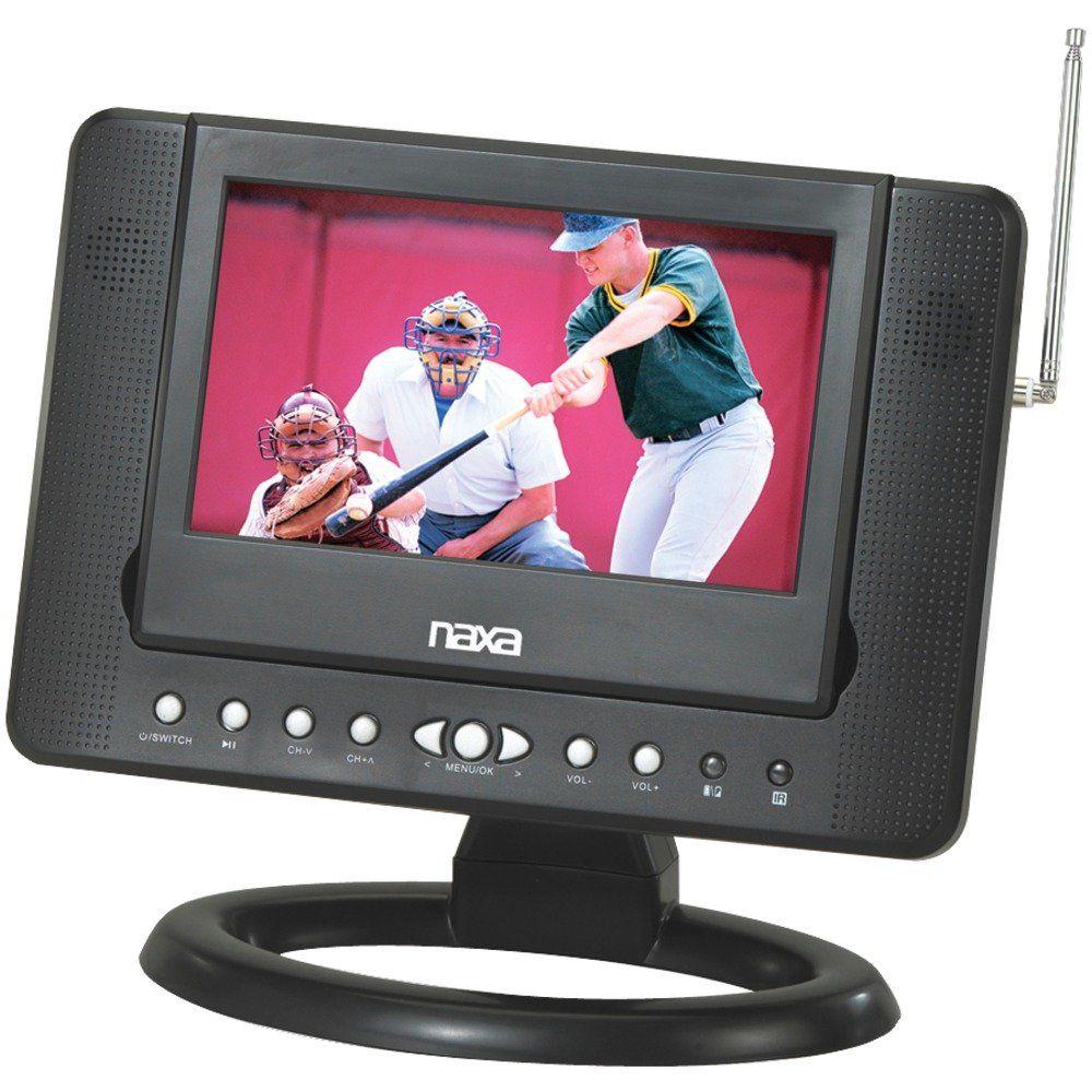 Naxa NTD-7561 7-Inch Widescreen Digital LCD TV with Built-In DVD ...