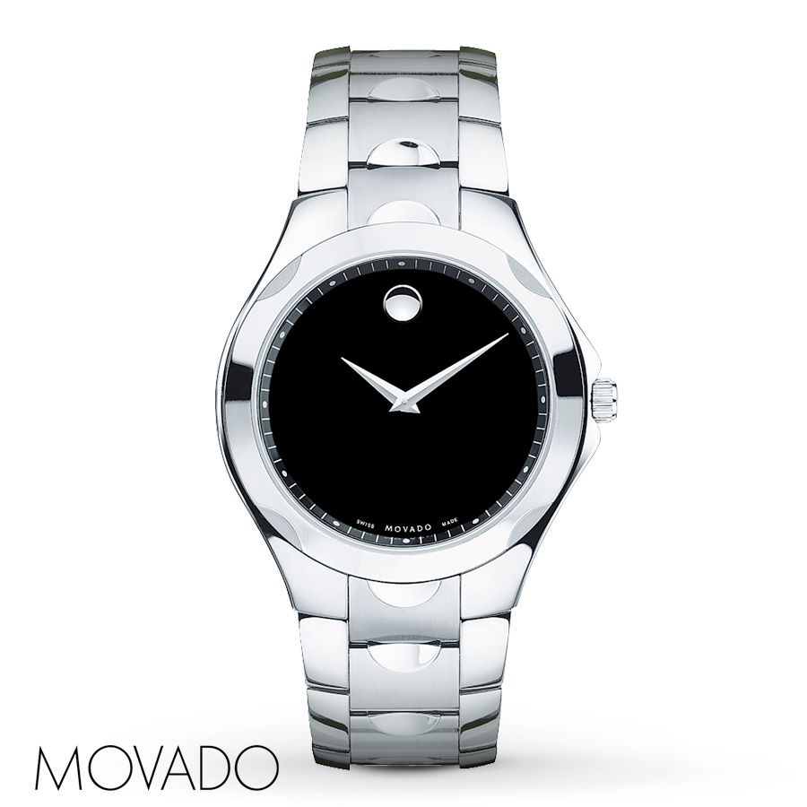 Jared Movado Mens Watch Luno Sport 606378 BULLET Pinterest