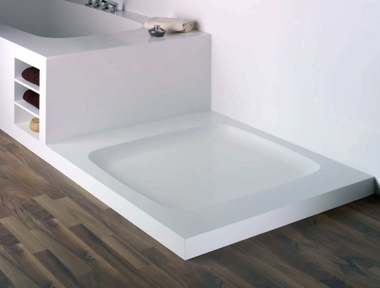 Corian Shower Pan: Sturdiness Of Solid Surface Bath Products