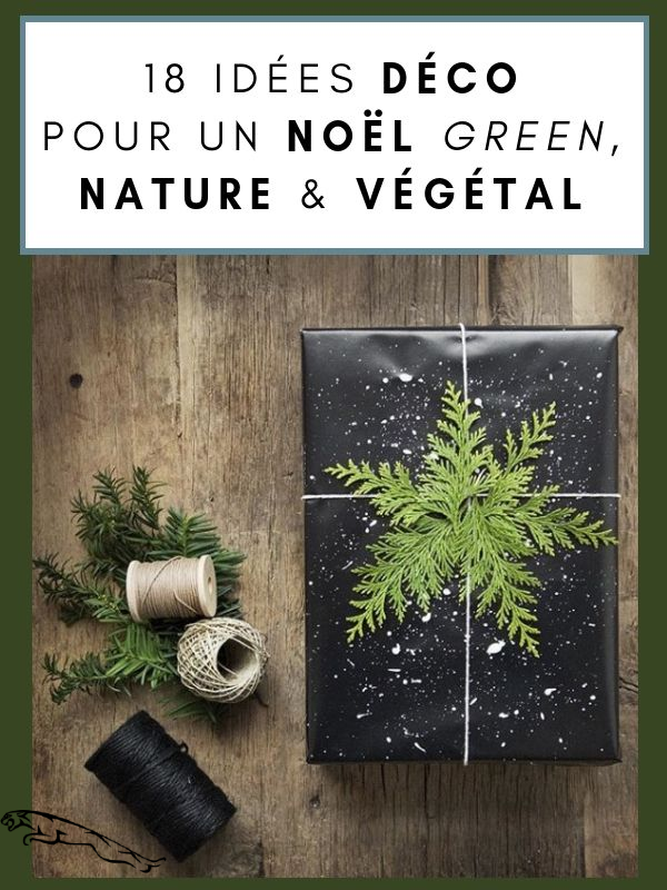 18 Idees De Decoration De Noel Nature Vegetale Green