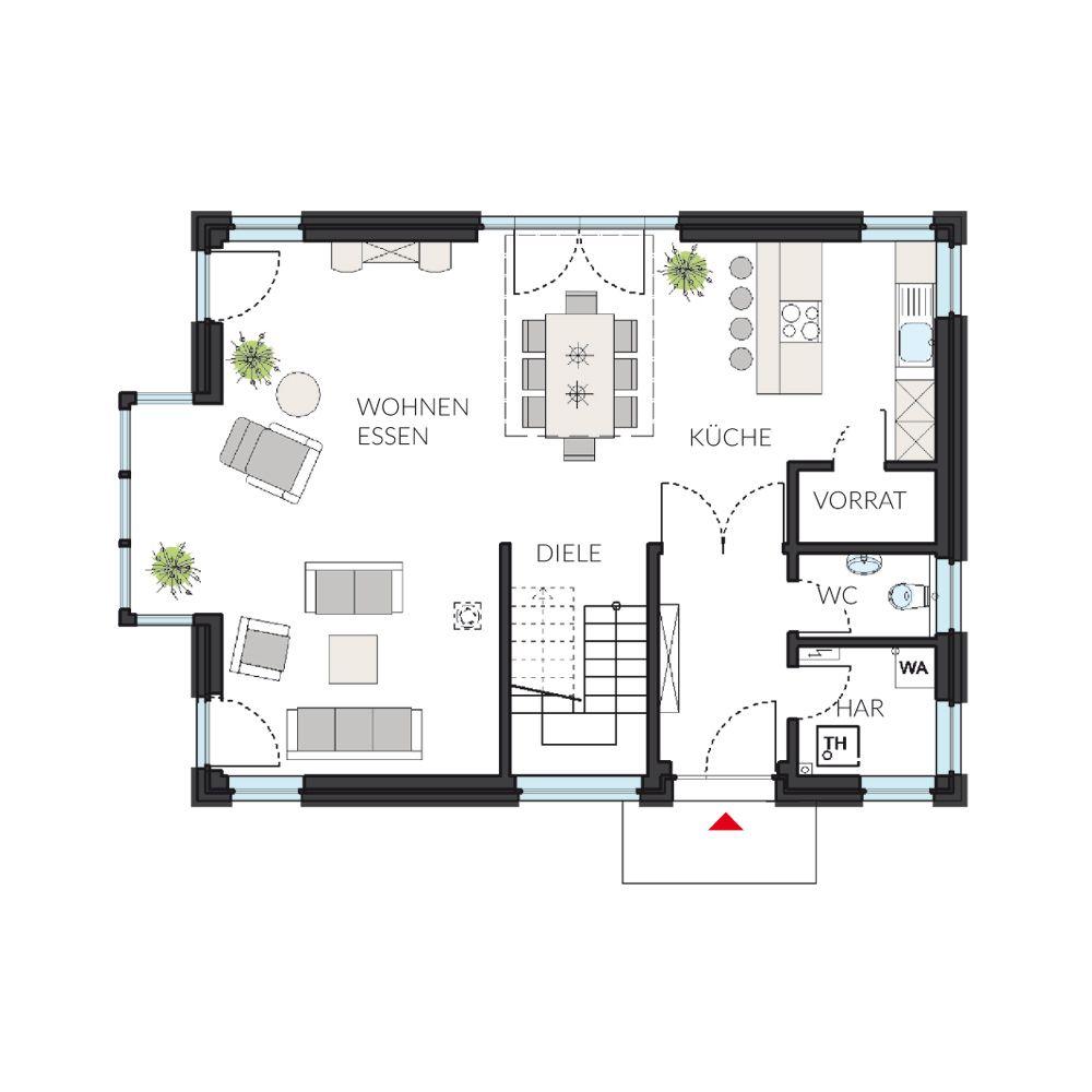 Die Stadtvilla von ProHaus 145 Stadtvilla, Haus bauen