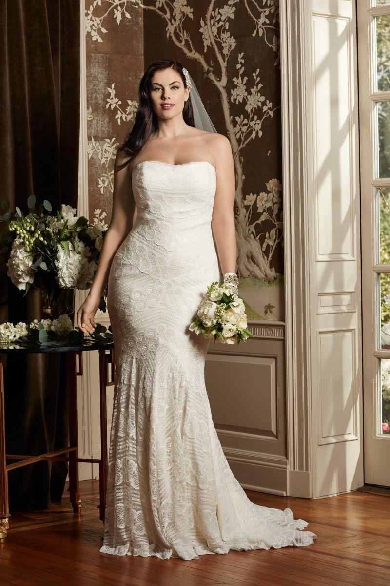 Watters WTOO Curve Plus Bridal Curvy wedding dress