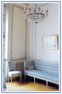 Perfect Swedish Gustavian dressing room