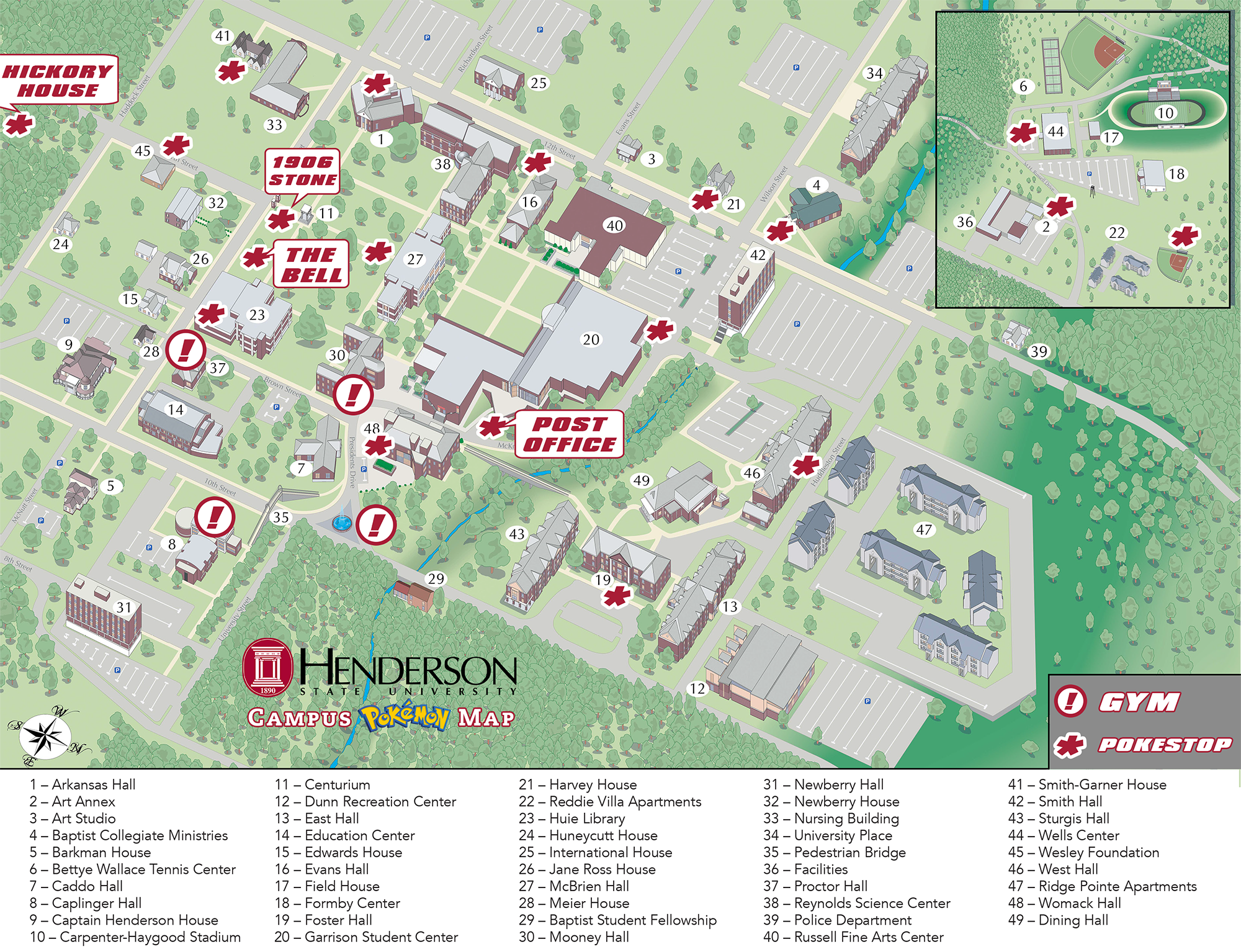 We\'ve got your back with our new HSU Campus PokemonGo Map! Be sure ...