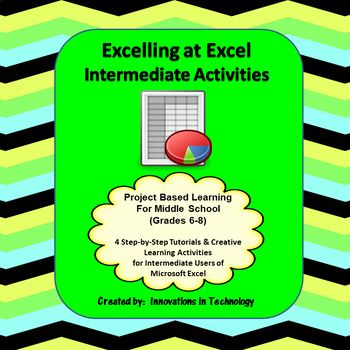 Excelling with Microsoft Excel - Intermediate Tutorial  Activities