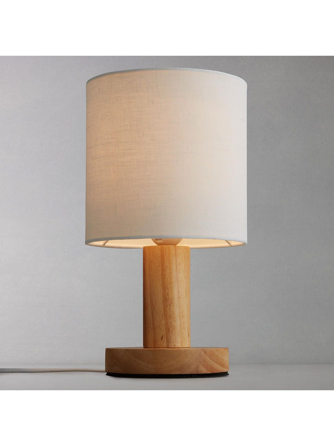 Lamps Online John Lewis Partners Slater Wood Touch Table Lamp Favourite