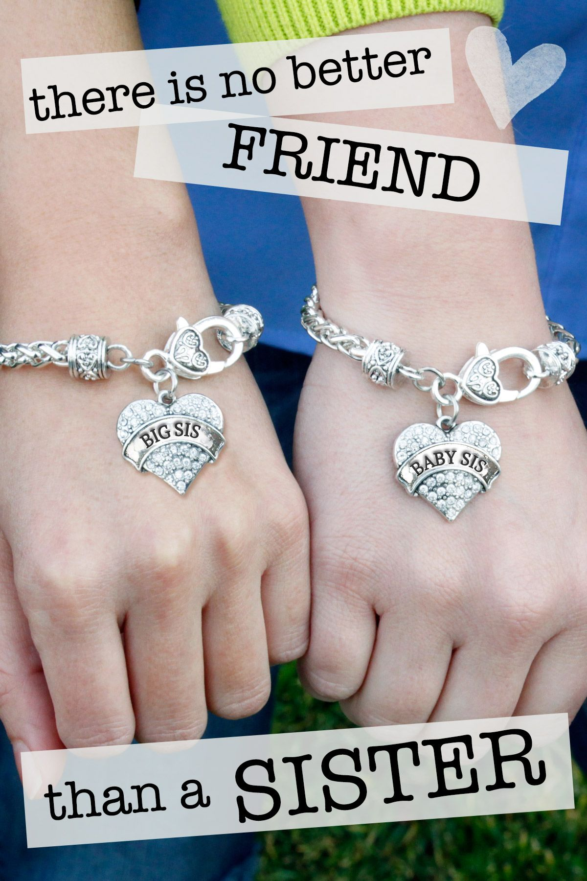 Do You Love Sisters Share An Unspoken Bond Throughout Life Inspiredsilver Now Has Matching Sister Bracelets For Everyone In The Family