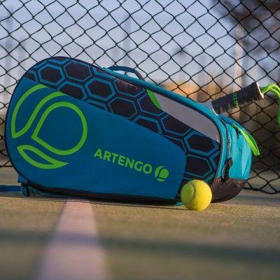 Schlagersport Tennis Tennis Tischtennis Badminton Squash Schlagertasche Padel Team Blau Artengo Tennisschlager Und Balle