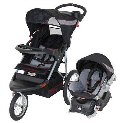 Baby Jogger Travel System Infant Newborn Stroller Car Seat Pram