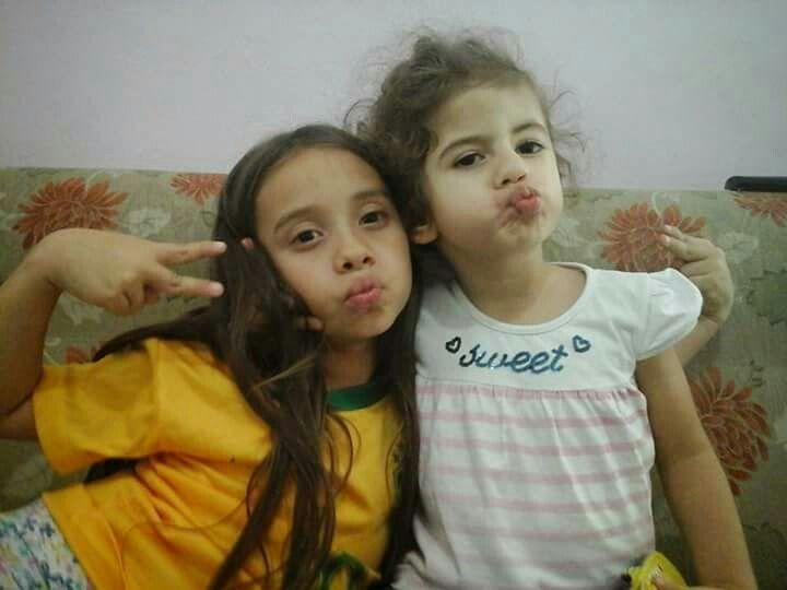 Maria Fernanda e Letícia...