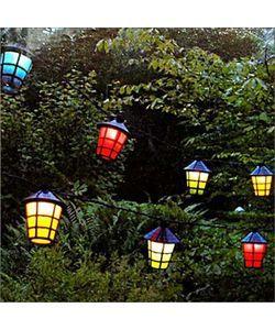 Party lyskæde - 20 lanterner