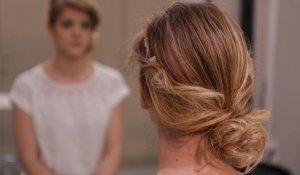 """Résultat de recherche d'images pour """"coiffure bardot""""   Chignon romantique facile, Tuto coiffure ..."""
