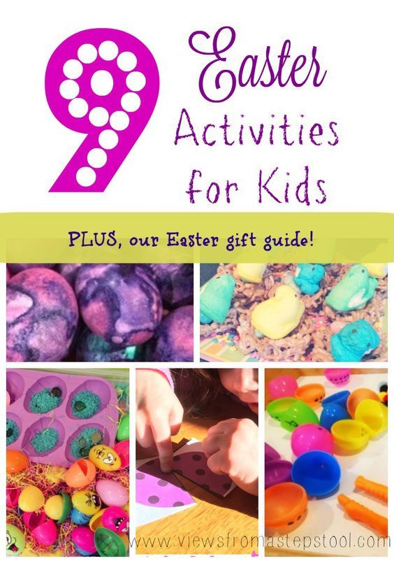 Easter activities for kids plus an easter gift guide easter fun easter activities including science sensory crafts and recipes plus see what made our easter gift guide under 15 this year negle Images