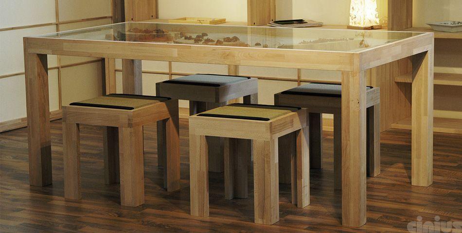 Cinius arredamento ~ Tavolo zen con giardino zen cinius stile giapponese progetti d