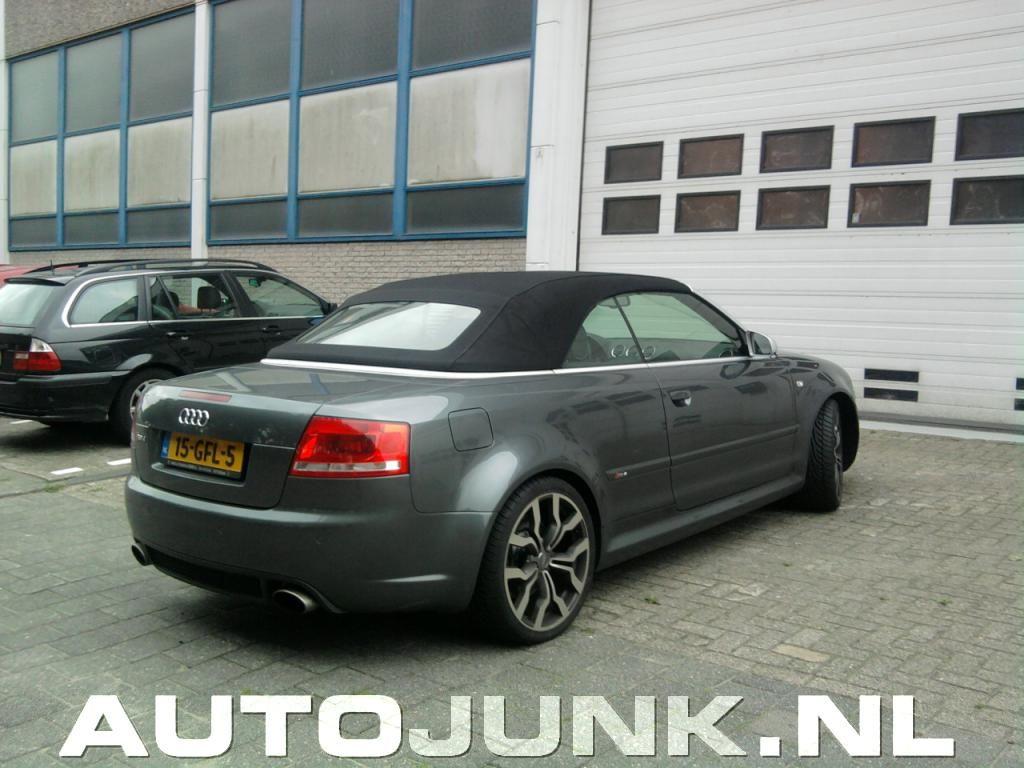 Audi Rs4 Cabrio Met R8 V10 Velgen Fotos Autojunknl