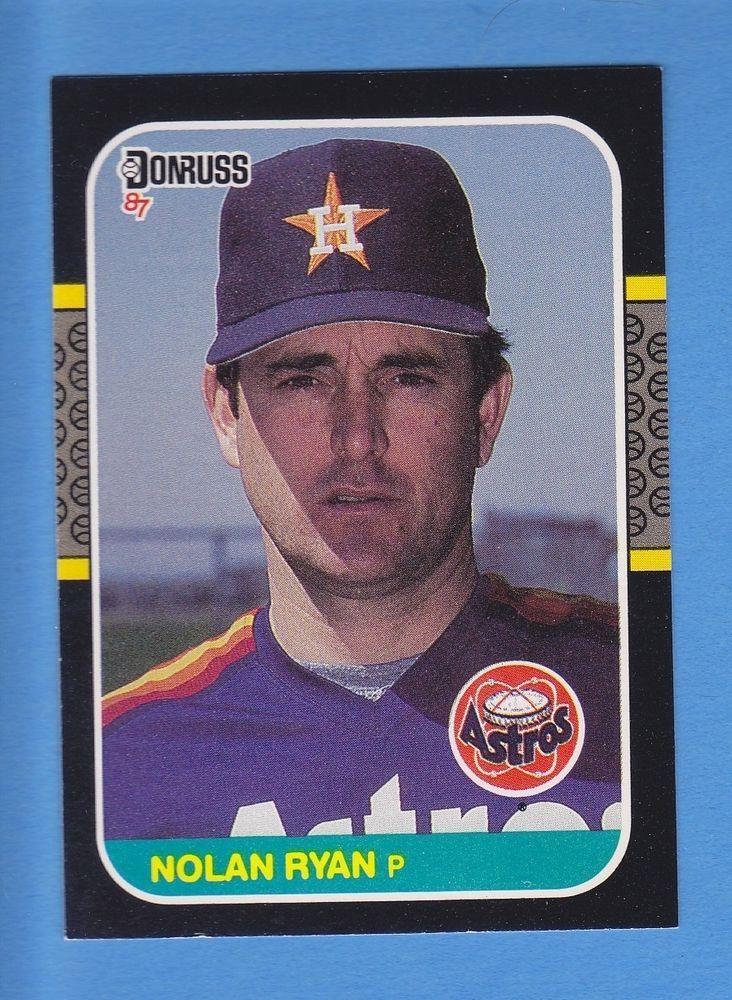 1987 donruss nolan ryan from 195 baseball cards nolan