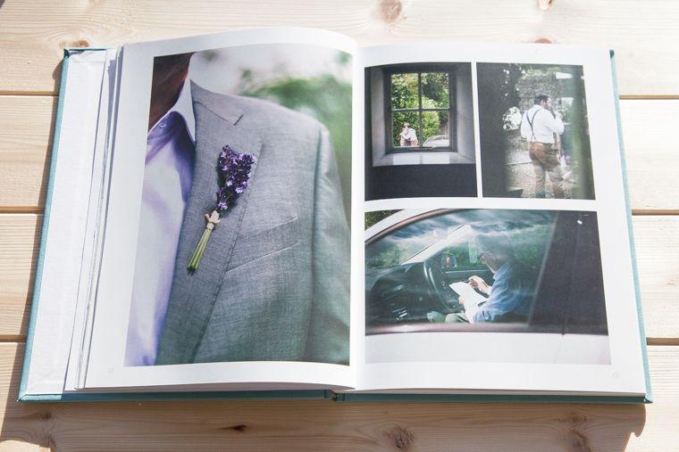 60 pages wedding photo album handmade loose leaf felt