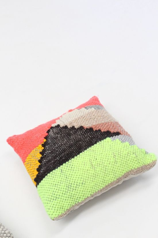 New Friends Woven Pillows Large