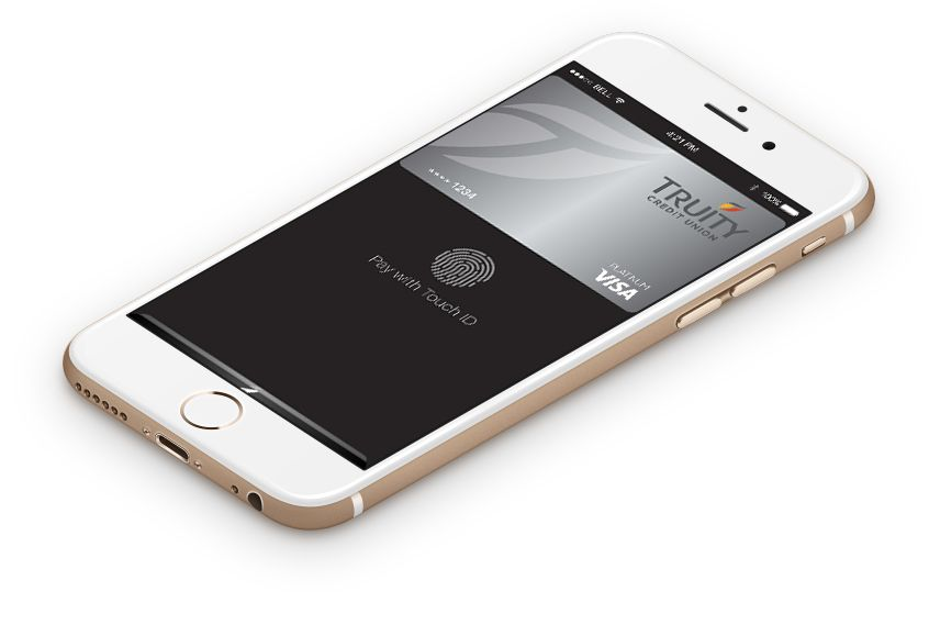 Truity Credit Union Apple Pay now available. Credit