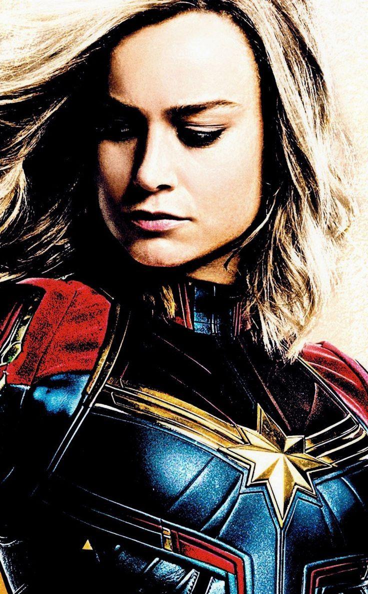 magnificent wallpaper Movie Captain Marvel artwork Brie ...
