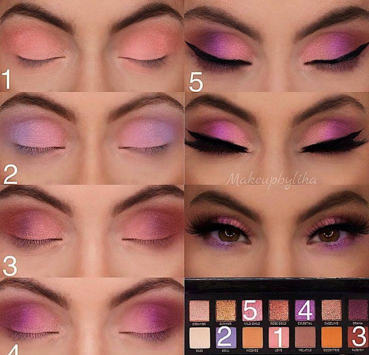 60 Easy Eye Makeup Tutorial For Beginners Step By Step Ideas(Eyebrow& Eyeshadow)... - Make Up