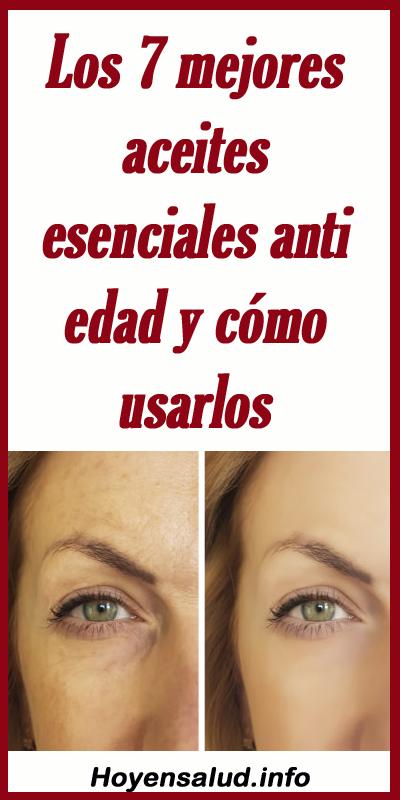 Los 7 Mejores Aceites Esenciales Anti Edad Y Cómo Usarlos Aceites Para La Piel Tratamientos De Belleza Aceites Para La Cara
