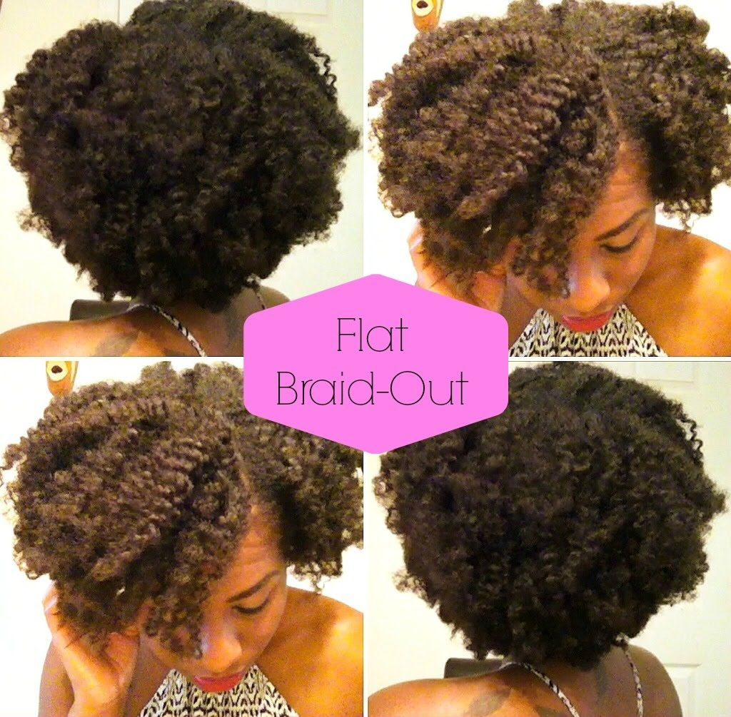 Flat Braid Out Defined Curls W Jane Carter 4c Hair Braid Out 4c Hairstyles Defined Curls