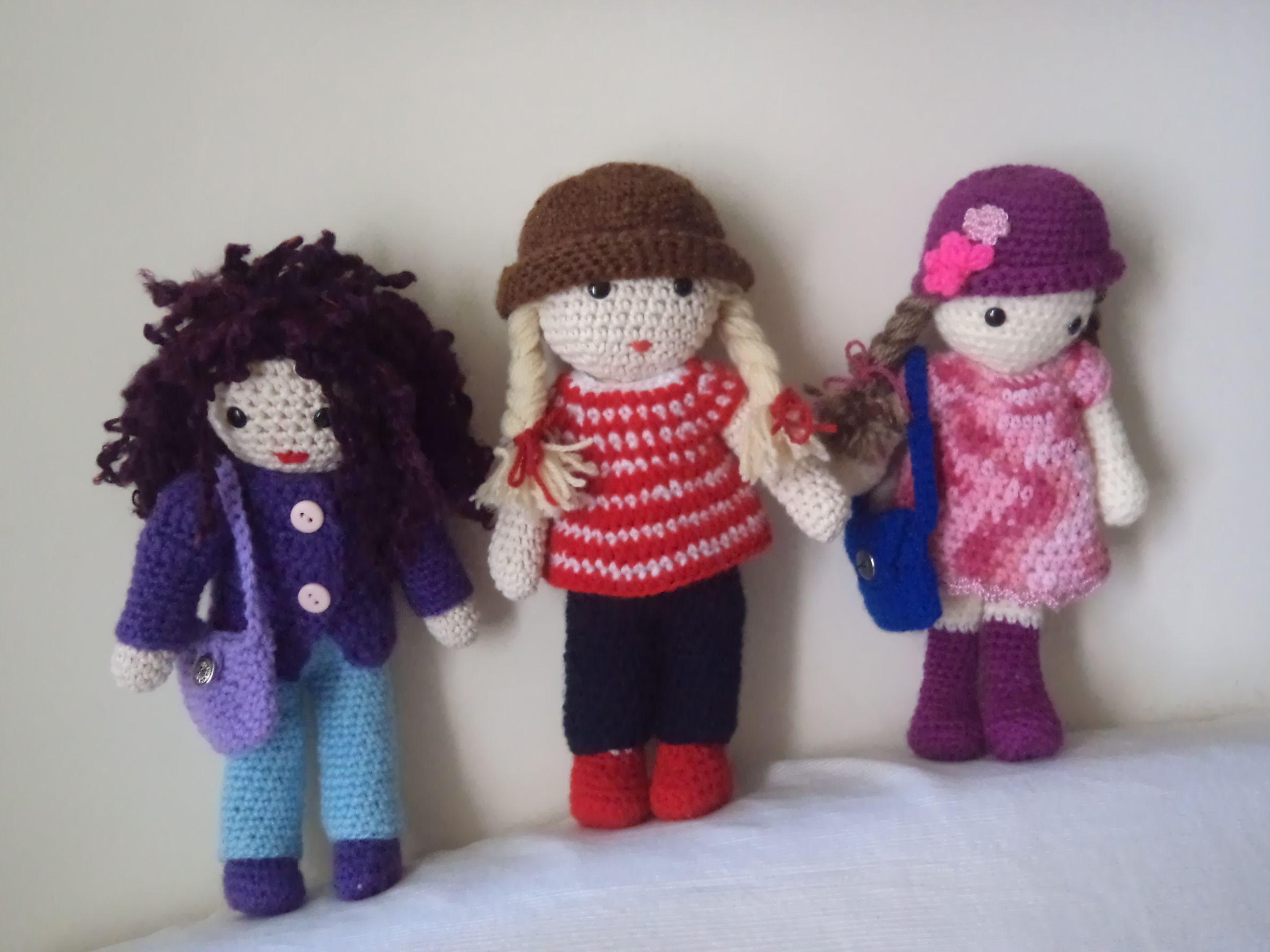 muñecas Iara/ Los Amigurumis de Elena/ Elena Draque