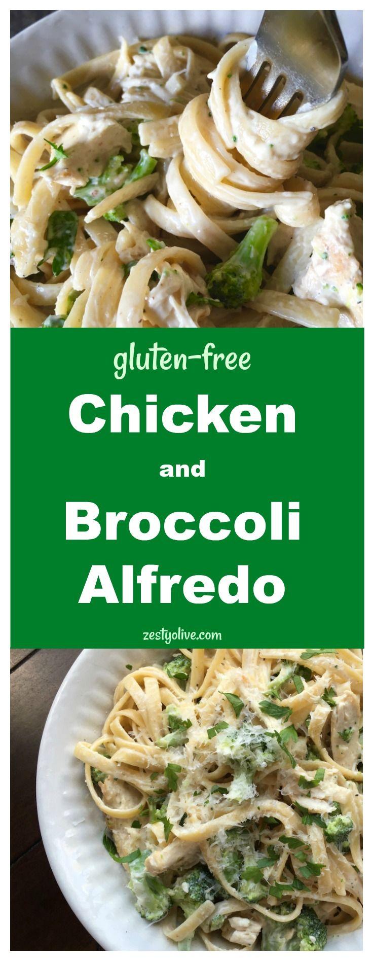 Chicken And Broccoli Alfredo Recipe Chicken Broccoli Alfredo