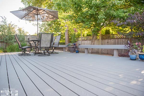 Albany Oregon Deck Companies Trex Composite With Built In Benches