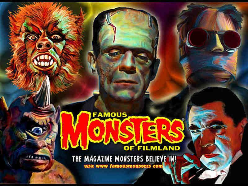 Famous Monsters. It ruled the world years ago...
