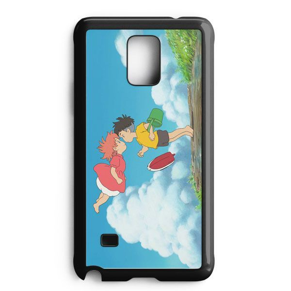 Ponyo On The Cliff Samsung Galaxy Note Edge Case