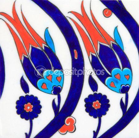 Османский стиль фона тюльпан - Поиск в Google