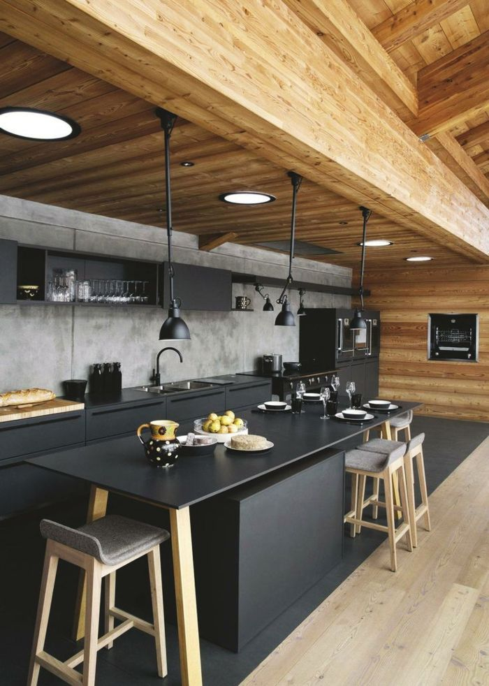 1001 + ideas de decoración de cocina americana | Cocinas ...