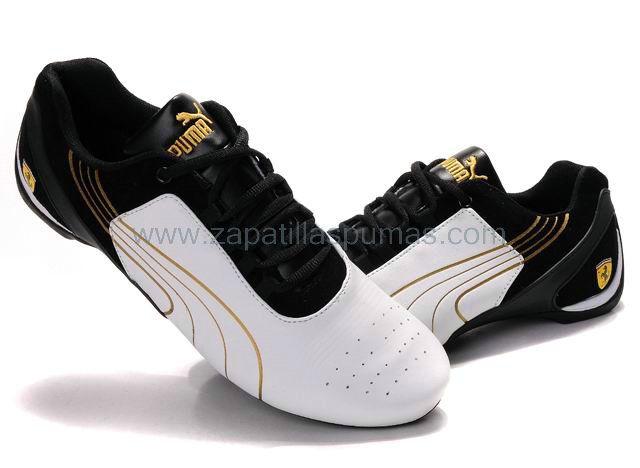 Zapatos Puma Repli Cat Hombres Blanco/Dorado/Negro,puma shoes outlet online,