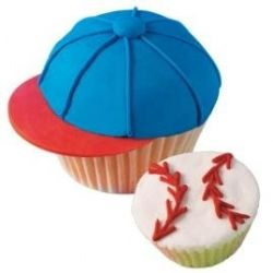 cap and baseball cake #Mariners
