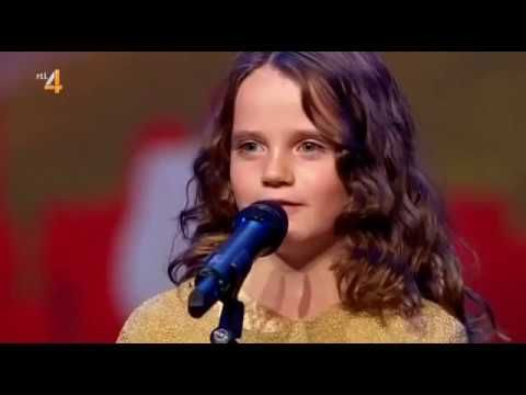 9 Year Old Girl Brings Down the House - YouTube | TALENTS of 2morrow