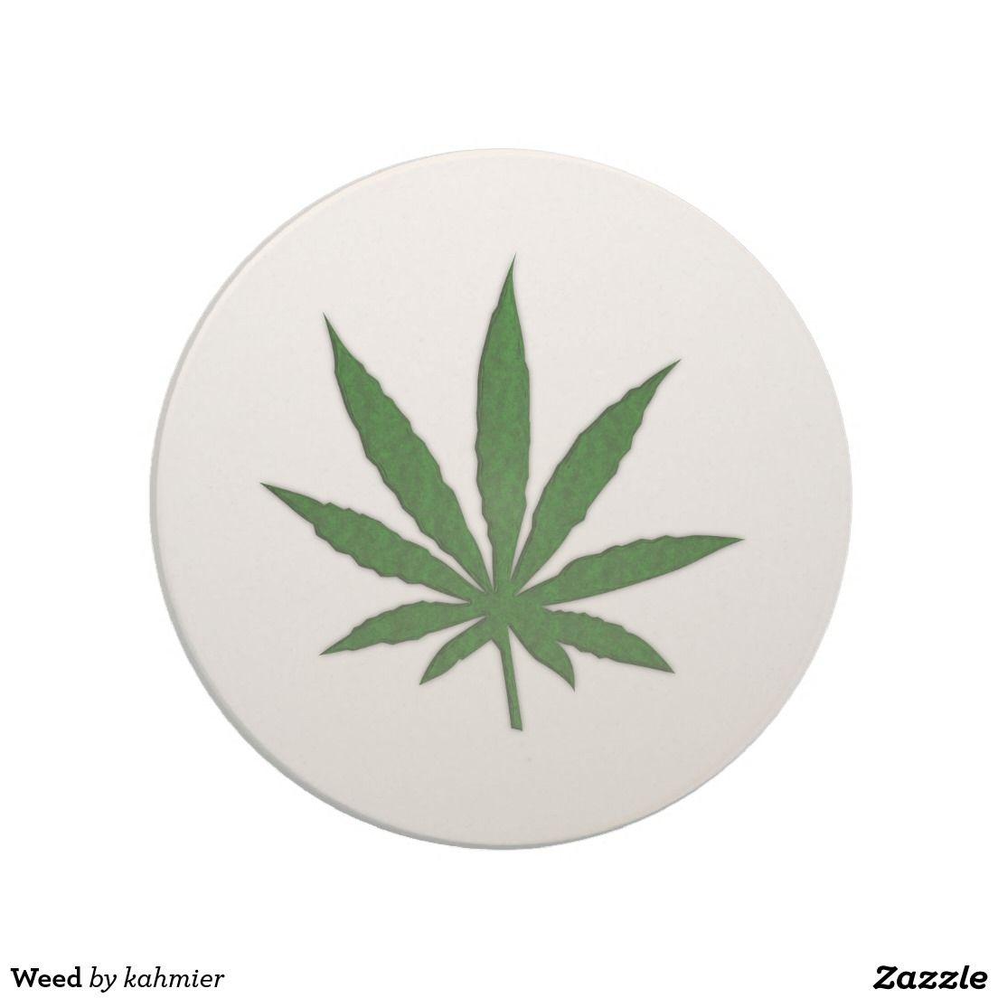 Weed Drink Coaster