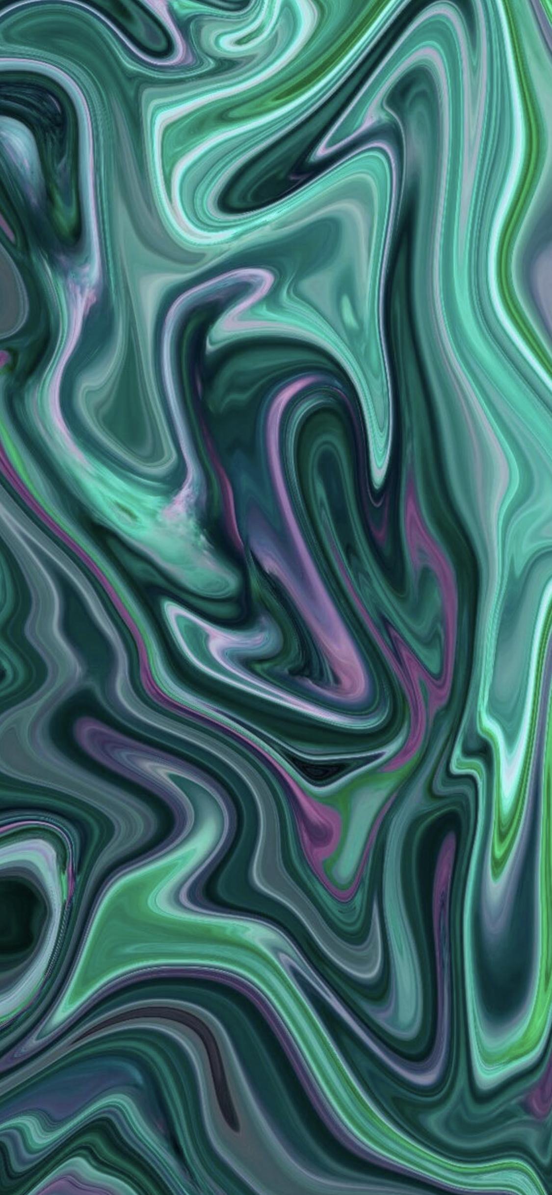 Dark Teal Pattern Background